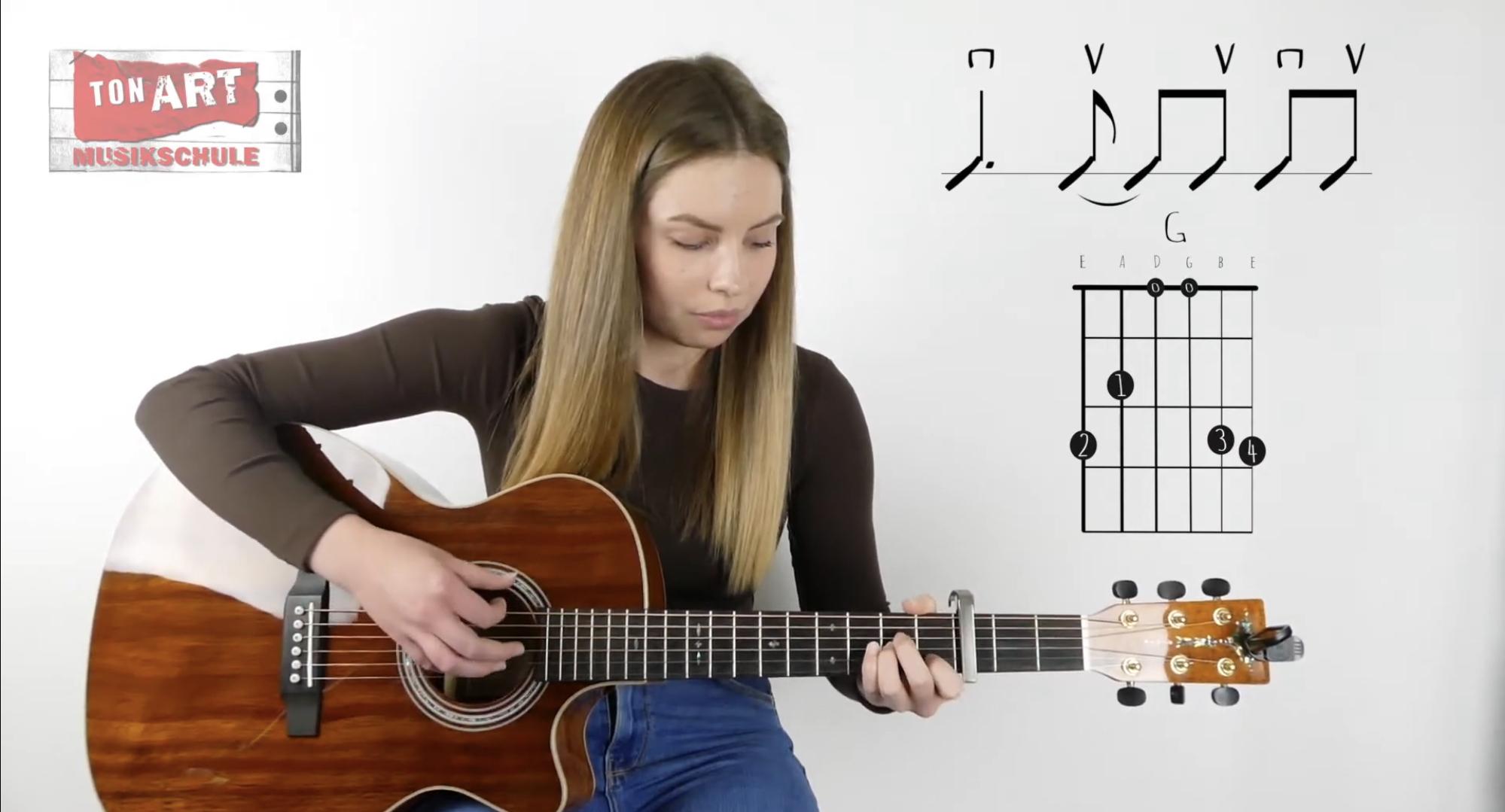 1 Minute - Lesson Gitarre