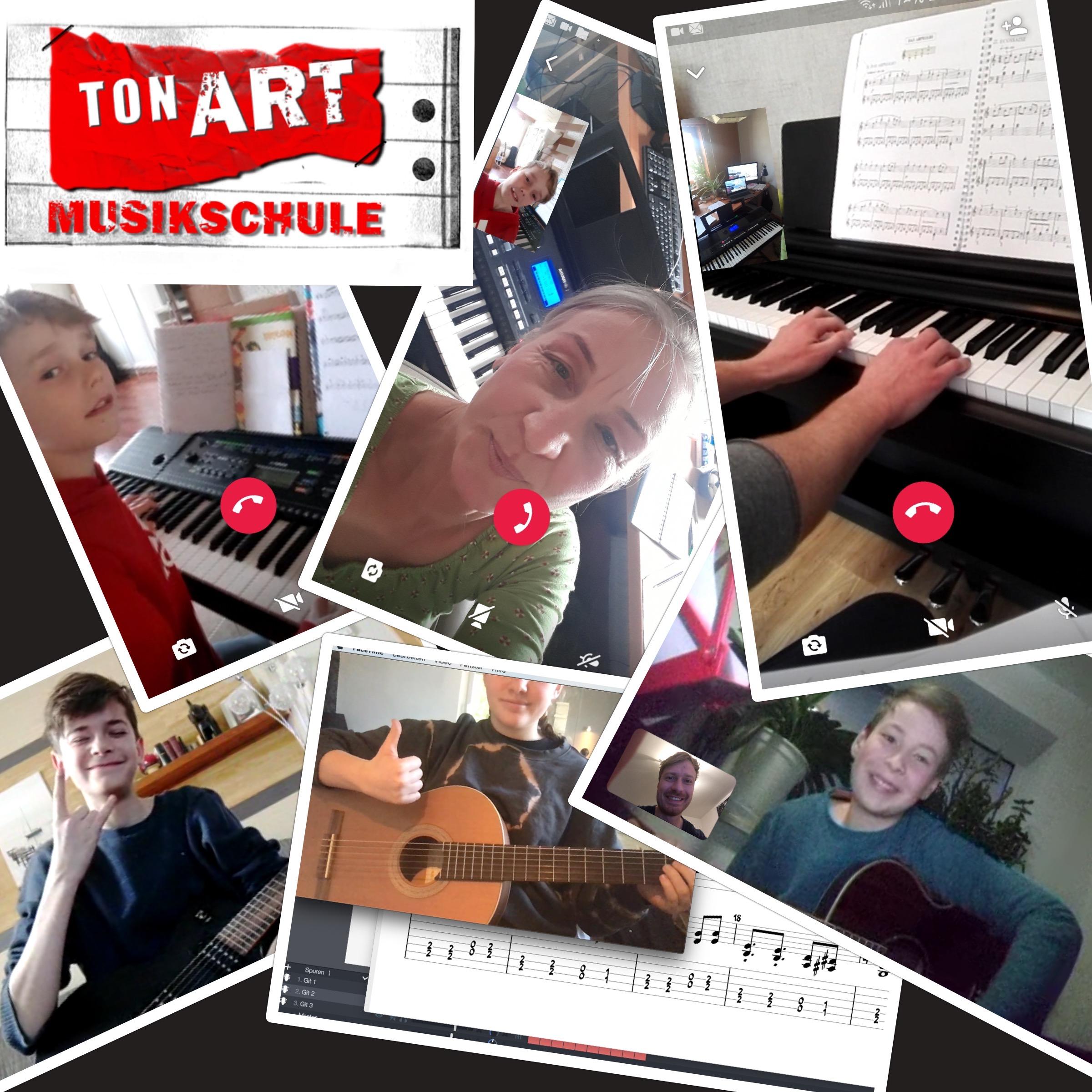 Ab jetzt Musikunterricht Online!